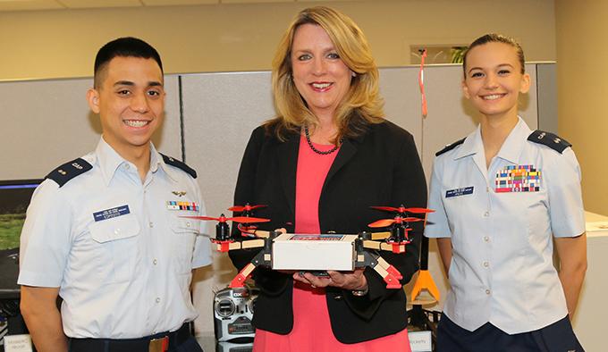 Top Air Force exec praises new Total Force partner
